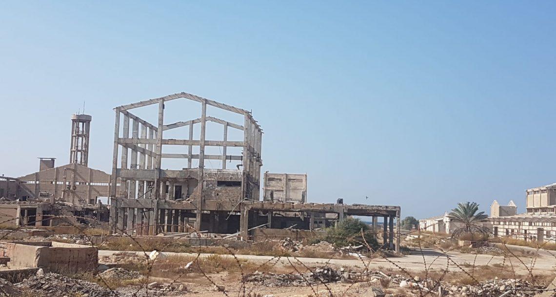 צפון 1: תשובה לא מנקה את קרקעות מפעל תעשיות אלקטרוכימיות והזיהום זורם לים